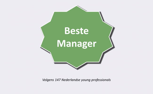Beste Manager Certificaat door Skyscrapers