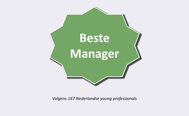 Beste Manager Certificaat door Skyscrapers
